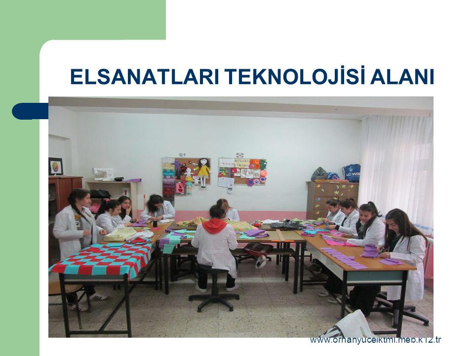 www.orhanyucelktml.meb.k12.tr ELSANATLARI TEKNOLOJİSİ ALANI
