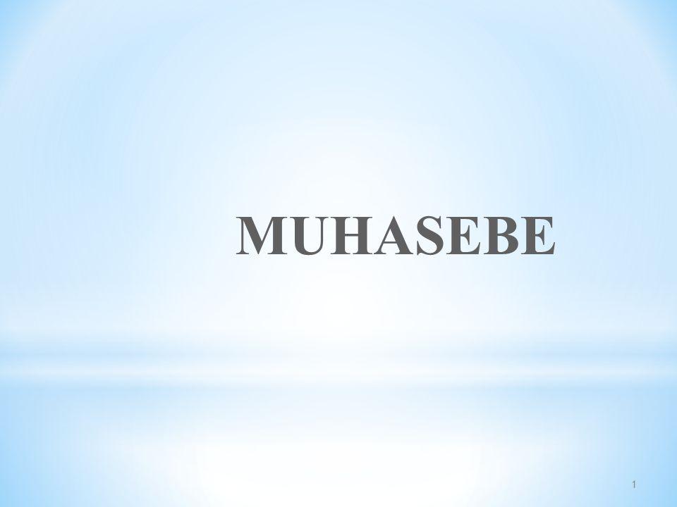 1 MUHASEBE