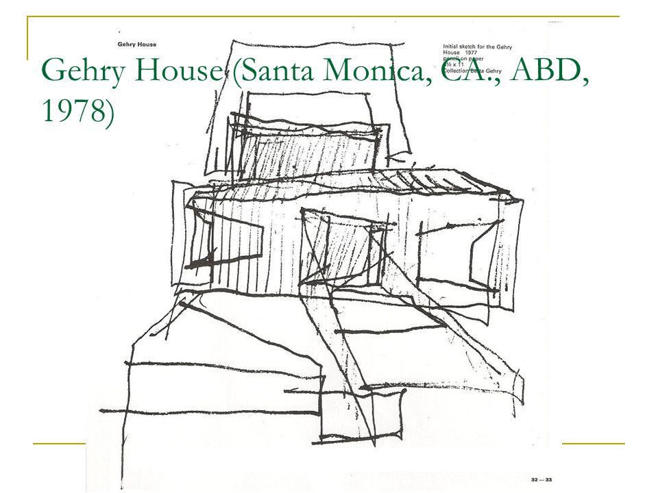 Gehry House (Santa Monica, CA., ABD, 1978)