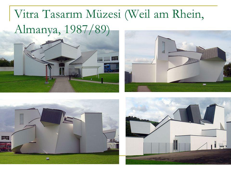 Vitra Tasarım Müzesi (Weil am Rhein, Almanya, 1987/89)