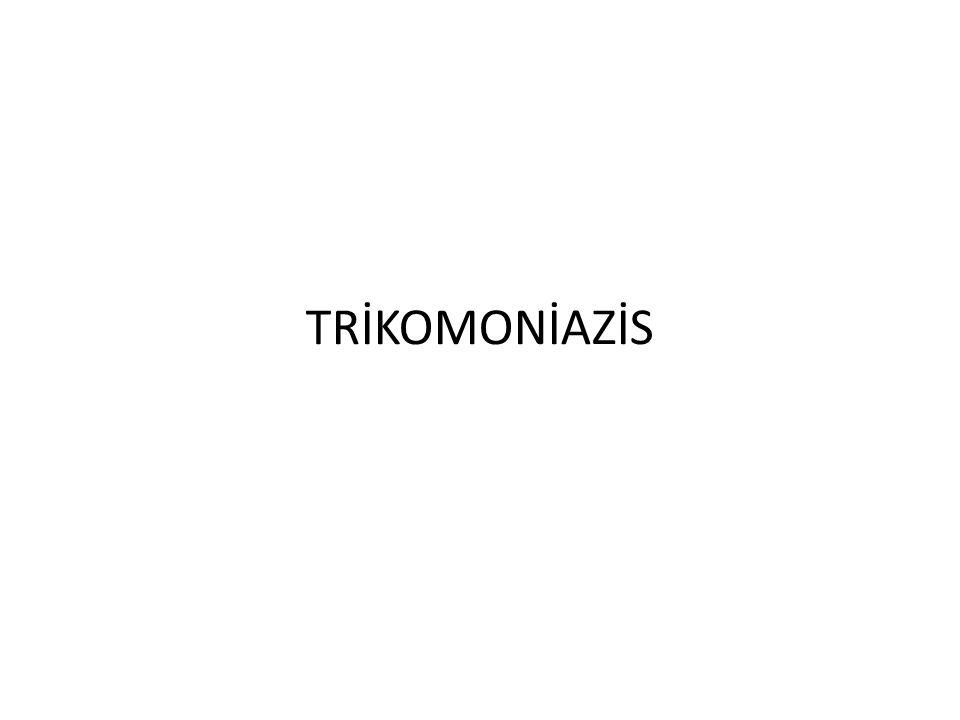 TRİKOMONİAZİS