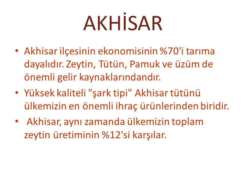 AKHİSAR İlçenin en ünlü ürünlerinden biri de Akhisar köftesidir
