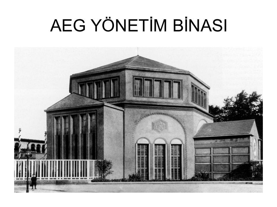 AEG YÖNETİM BİNASI