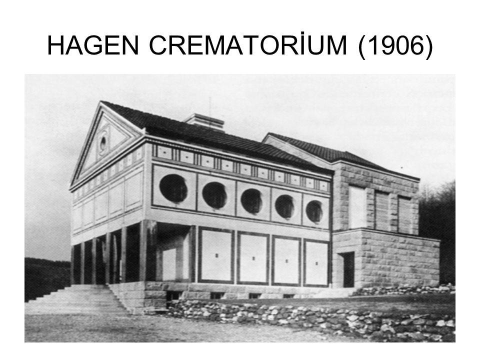 DEUTSCHER WERKBUND 19.Asrın aşırı süslü ve taklitçi mimarisine karşı olan tepkiler bir sadeleştirme hareketi halinde gelişiyordu.Art Nouveau,eklektizmi başka bir süslemecilik şekliyle alt etmek istediği için Werkbund buna karşı kuruldu.