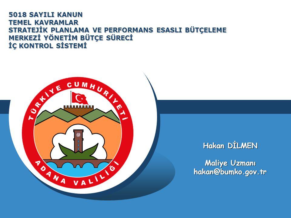 Maliye Bakanlığı, Devlet Planlama Teşkilatı Müsteşarlığı ve ilgili kamu idaresi tarafından birlikte tespit edilecek olan performans göstergeleri, kuruluşların bütçelerinde yer alır.