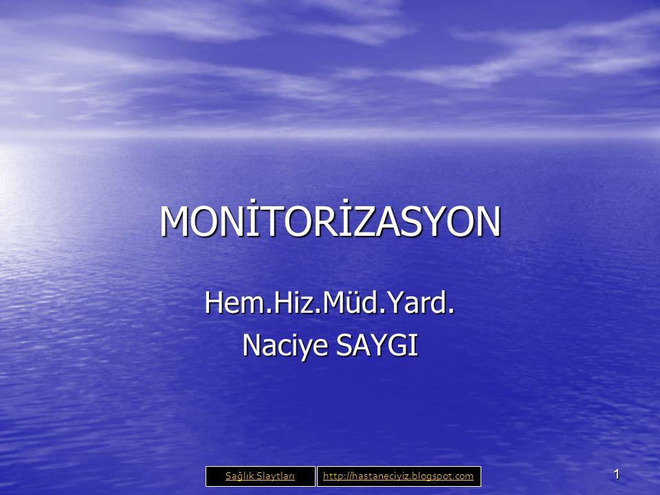 2 Monitorizasyon 'Monitor' kelimesi Latince ' uyarı ' anlamına gelen 'monere' kelimesinden türetilmiştir.