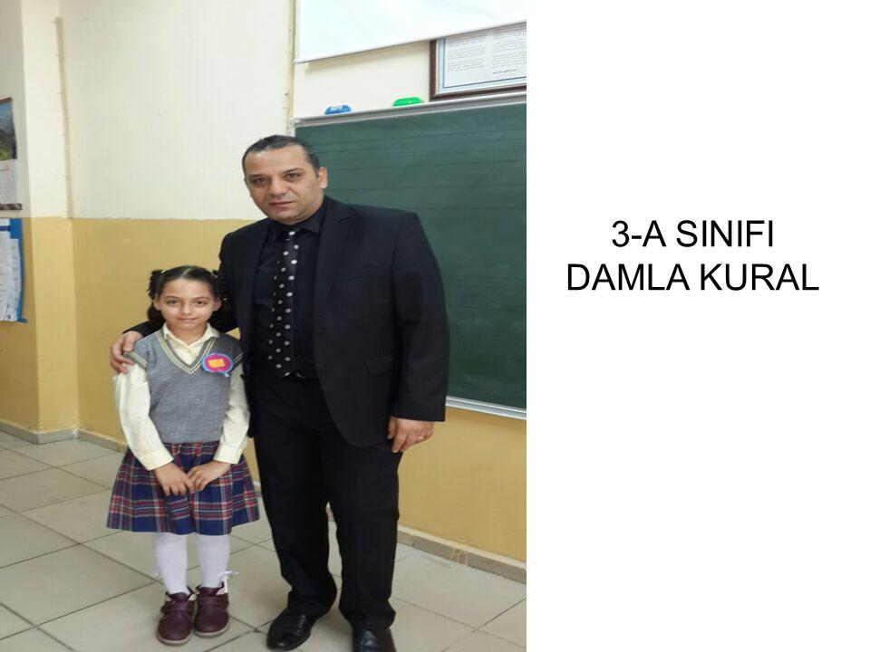 3-A SINIFI DAMLA KURAL