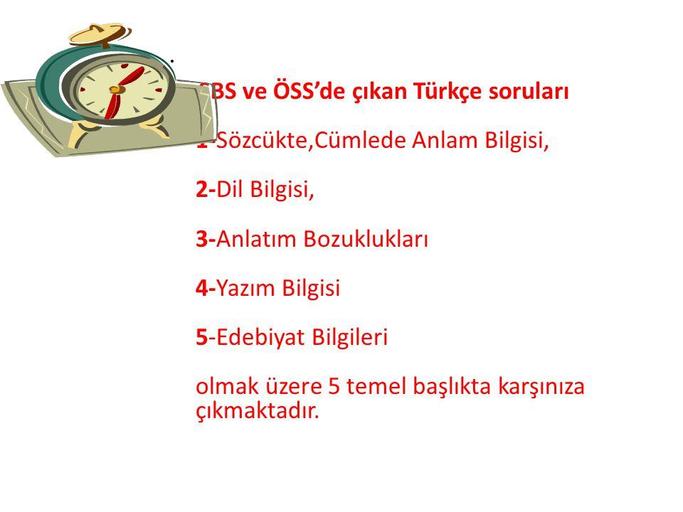 Türkçe'yi bütün kurallarıyla bilmek, sizin başarınız açısından oldukça önemlidir. Türkçe'yi iyi bilmek sadece Türkçe sorularını çözmekte değil, diğer
