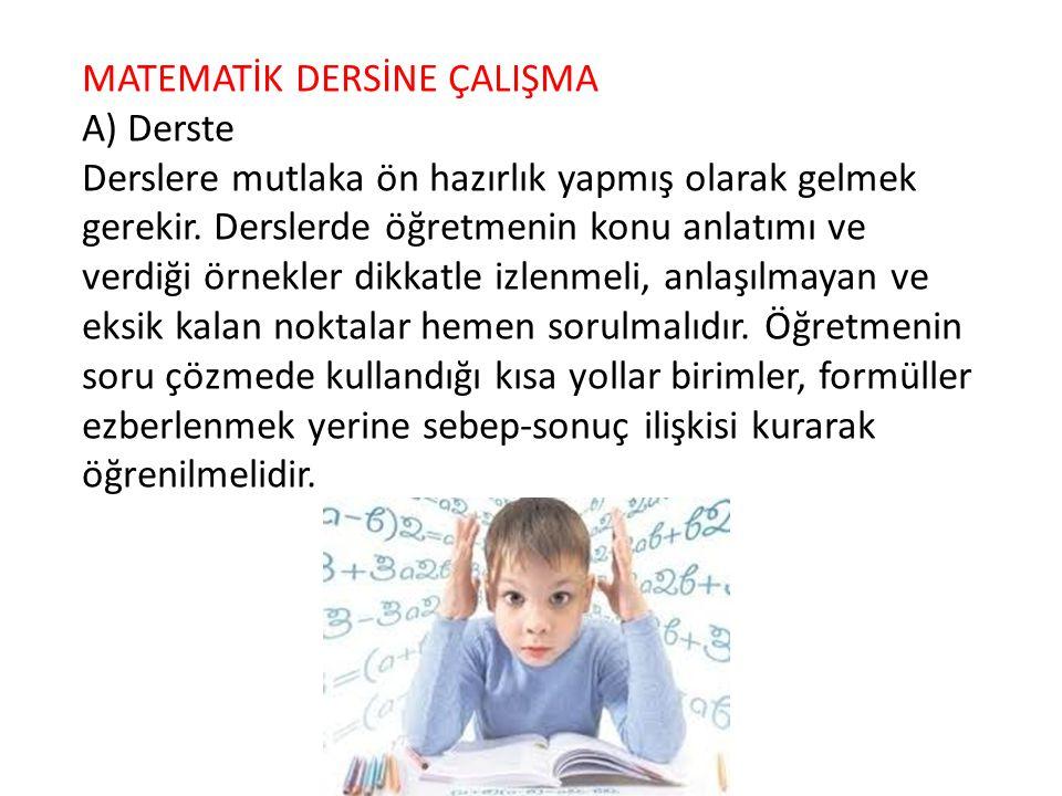 · Türkçe konuları birbirinin devamı olduğu için konuları sırayla ve anlayarak çalışın. Bir konuyu çok iyi anlamadan diğerine geçmeyin.