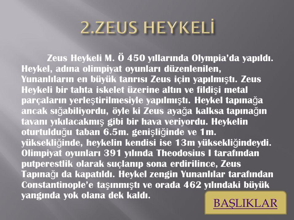 ZEUS HEYKELİ