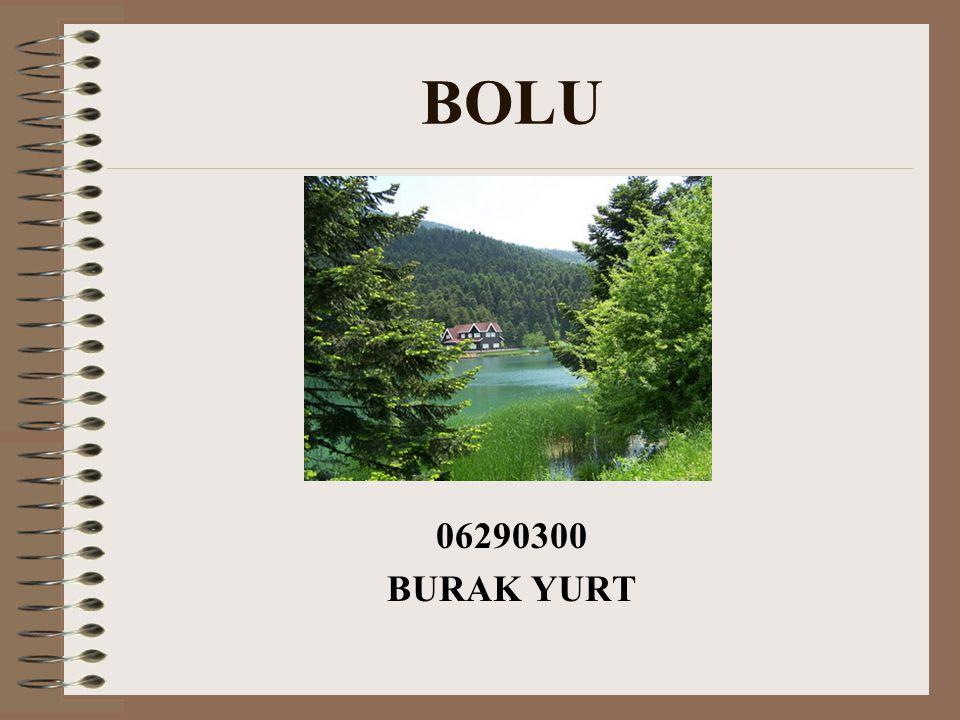 BOLU Genel Bilgiler İL TRAFİK KODU : 14 Yüzölçümü : 8458 km ² Coğrafya : Bolu ili Yurdumuzun Batı Karadeniz Bölgesinde, 30º 32' ve 32º 36' doğu boylamları, 40º 06' ve 41º 01' kuzey enlemleri arasında yer almaktadır.