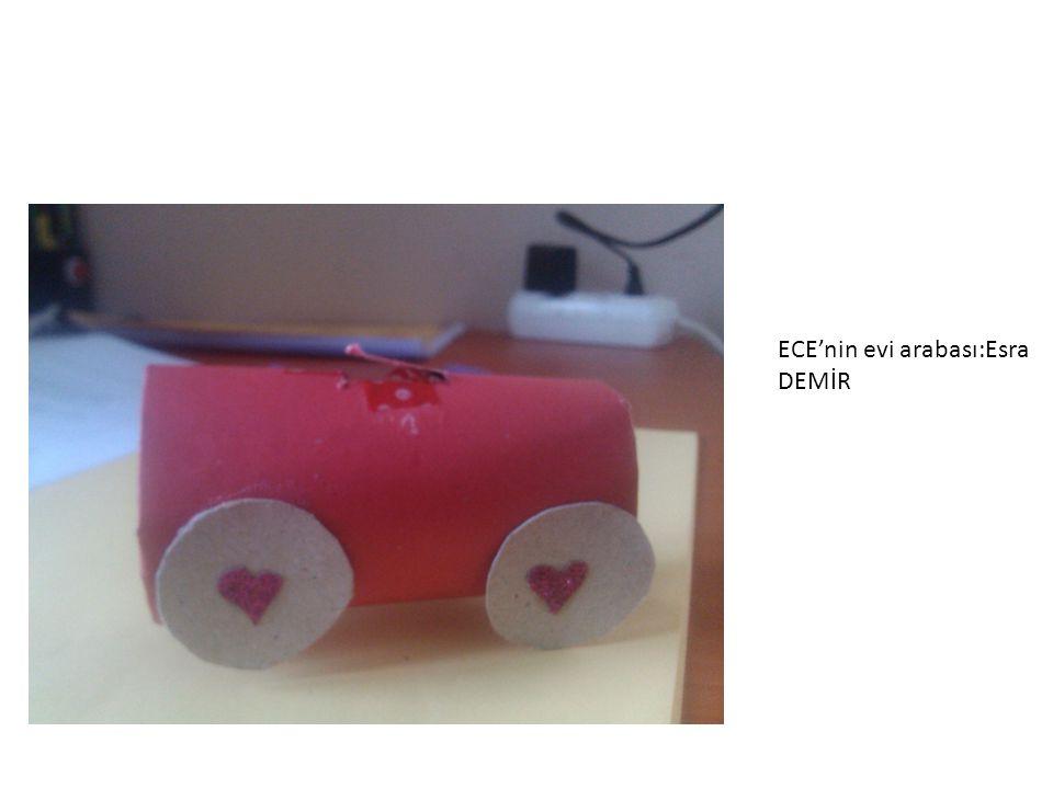 ECE'nin evi arabası:Esra DEMİR