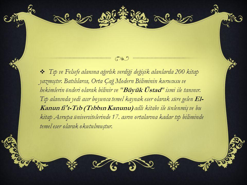 AHLAK FELSEFES İ  İbn-i Sina; ahlak felsefesiyle pratik felsefe dolayısıyla ilgilenmiştir.