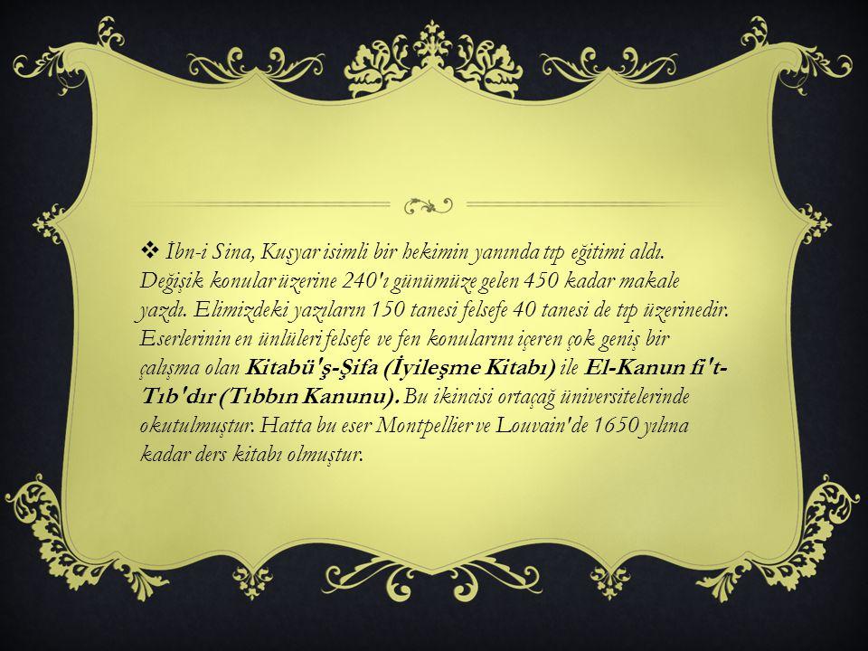  Babasından, ünlü bilgin Natili den ve İsmail Zahit ten ders aldı.