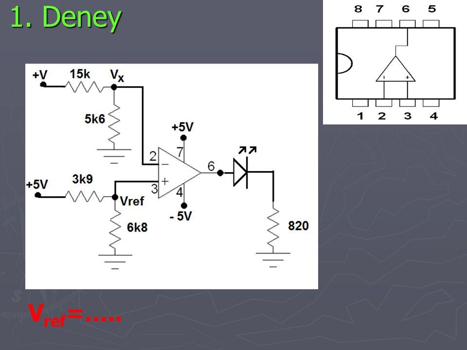 1. Deney V ref =…..
