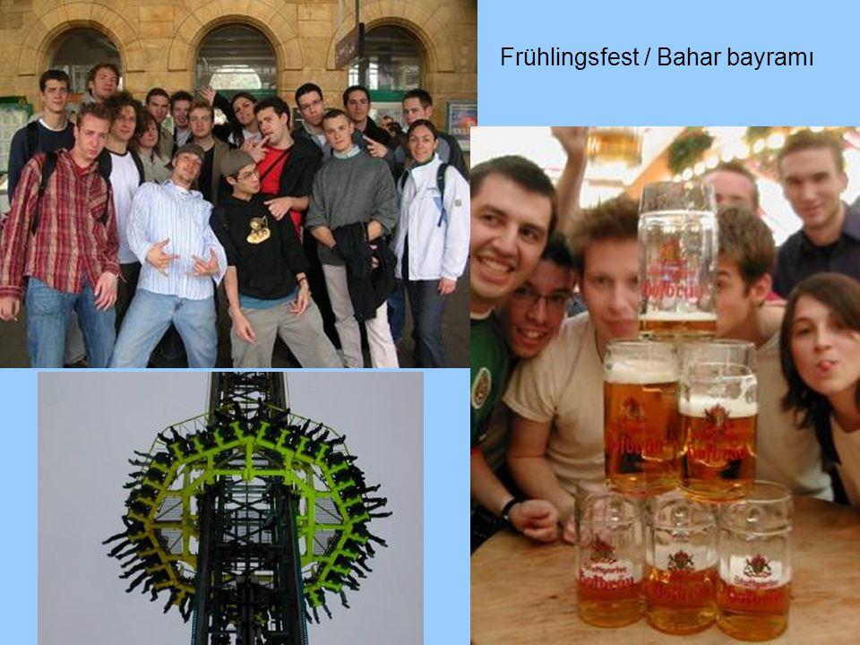 Frühlingsfest / Bahar bayramı