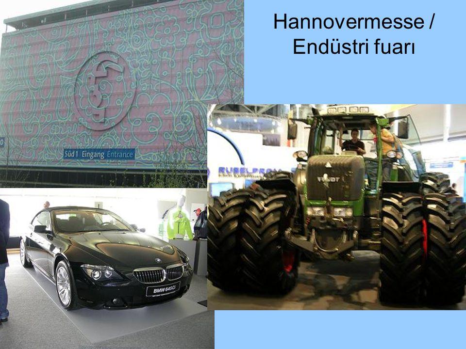 Hannovermesse / Endüstri fuarı