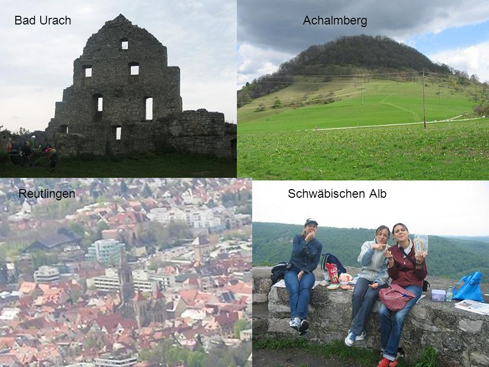 Bad UrachAchalmberg Schwäbischen AlbReutlingen