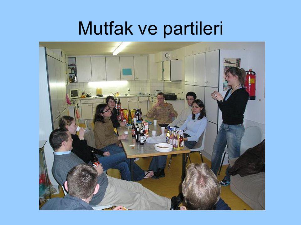 Mutfak ve partileri