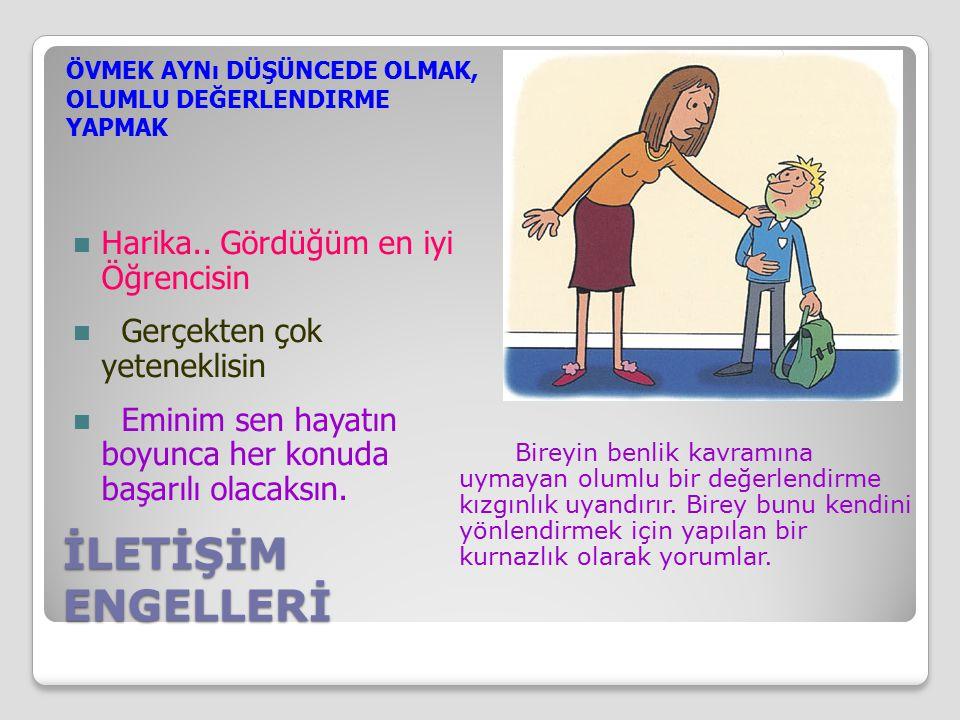 İLETİŞİM ENGELLERİ Harika..