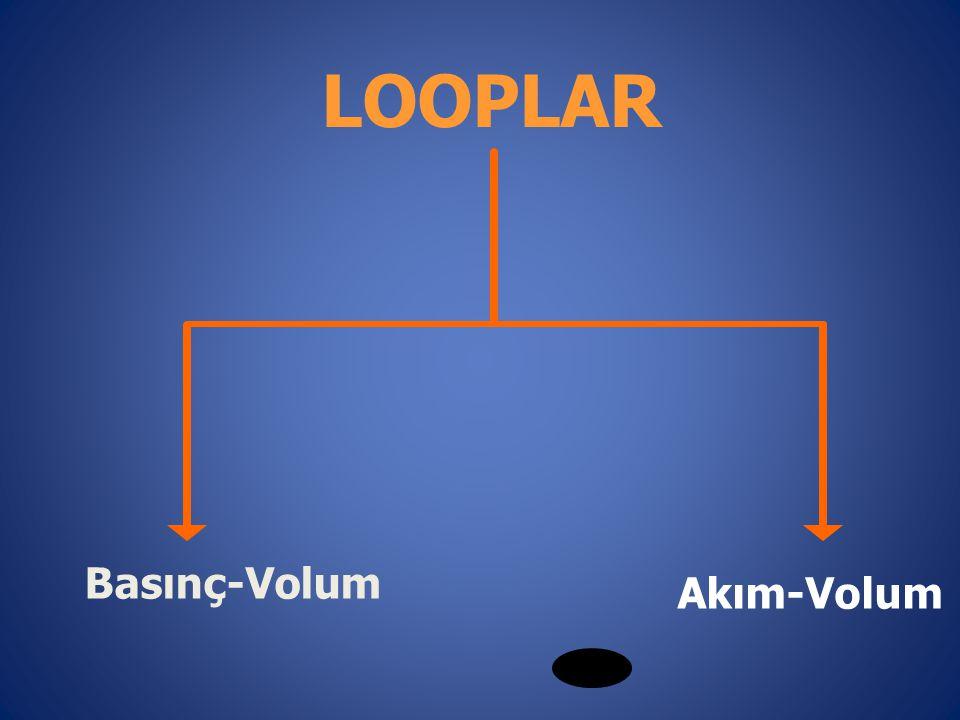 Basınç-Volum Akım-Volum LOOPLAR