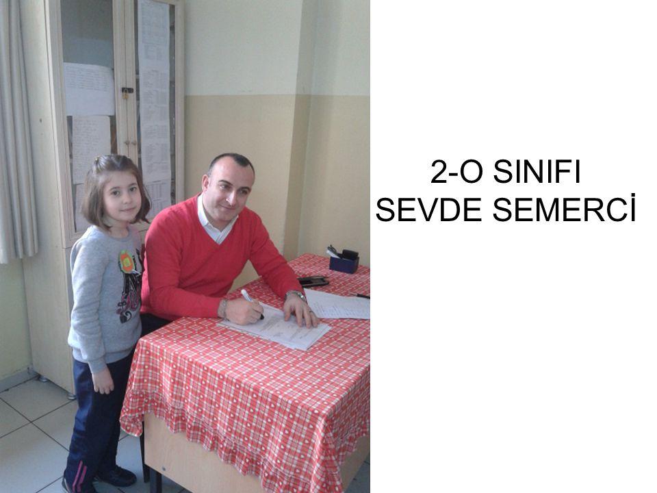 2-O SINIFI SEVDE SEMERCİ