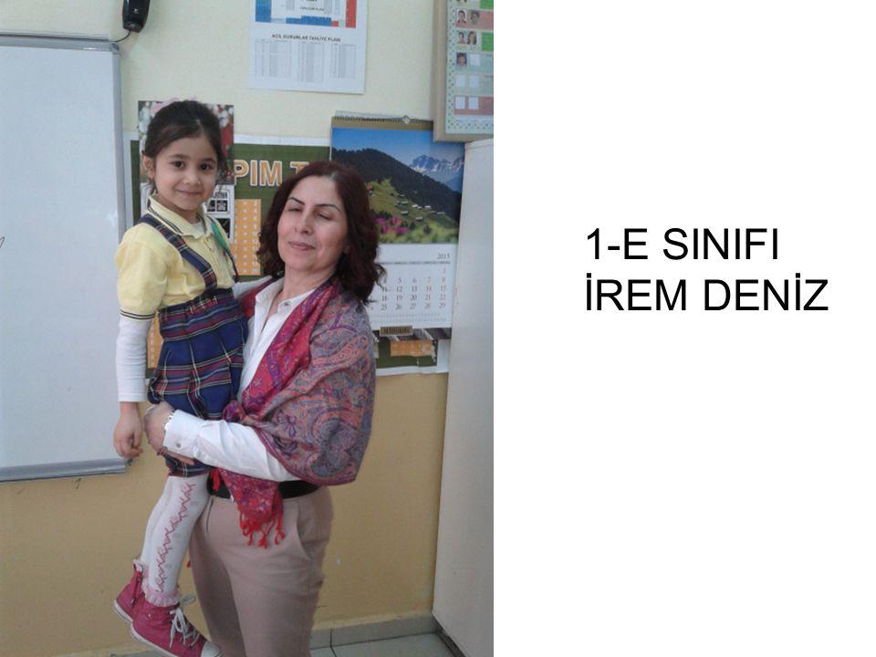 1-E SINIFI İREM DENİZ