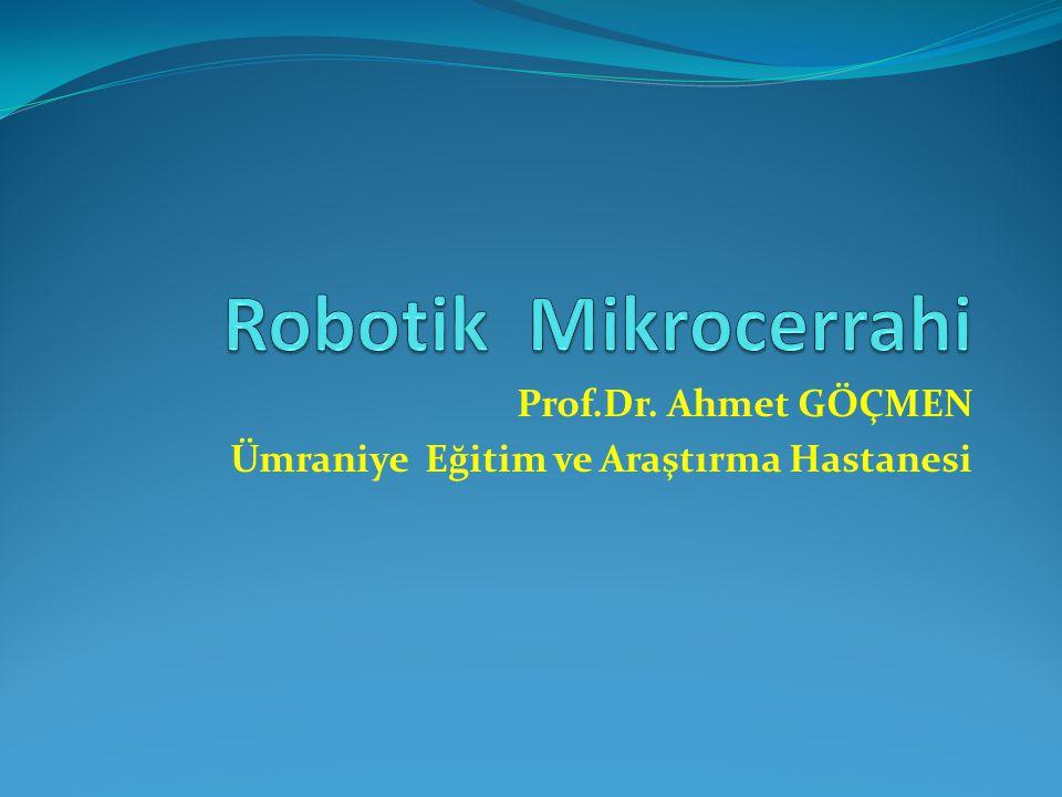 Prof.Dr. Ahmet GÖÇMEN Ümraniye Eğitim ve Araştırma Hastanesi