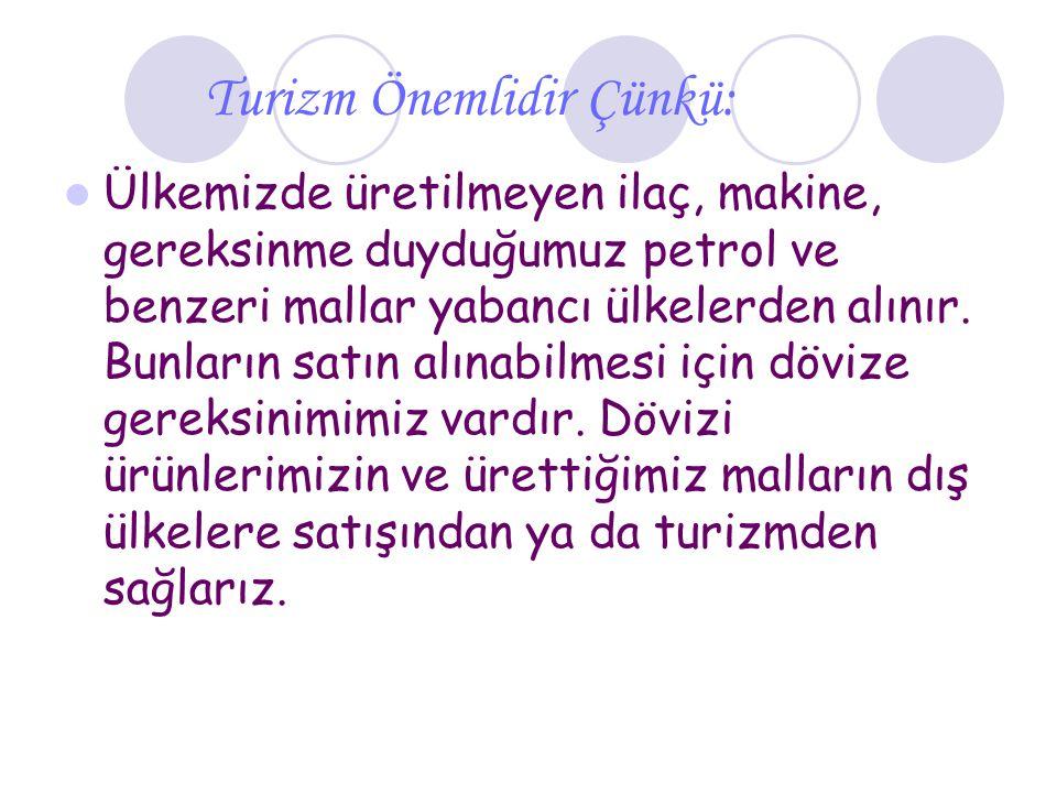 Turist ve Türkiye Ülkemize turist gelmesini istiyorsak, onlara karşı güler yüzlü, iyiliksever, temiz, hoşgörülü olmalıyız.