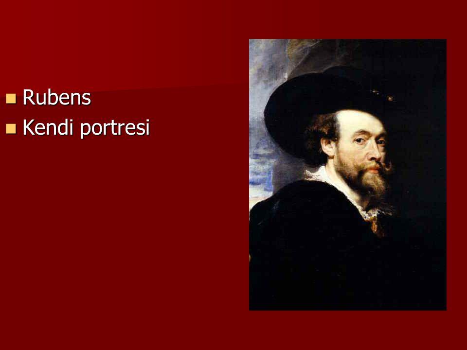 Rubens Rubens Kendi portresi Kendi portresi