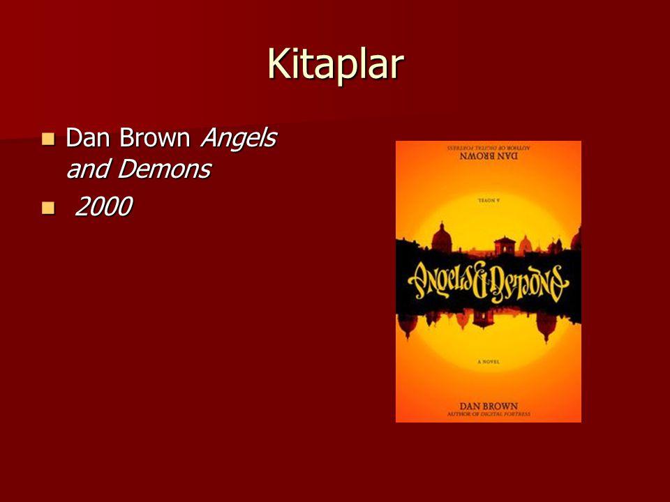 Kitaplar Dan Brown Angels and Demons Dan Brown Angels and Demons 2000 2000