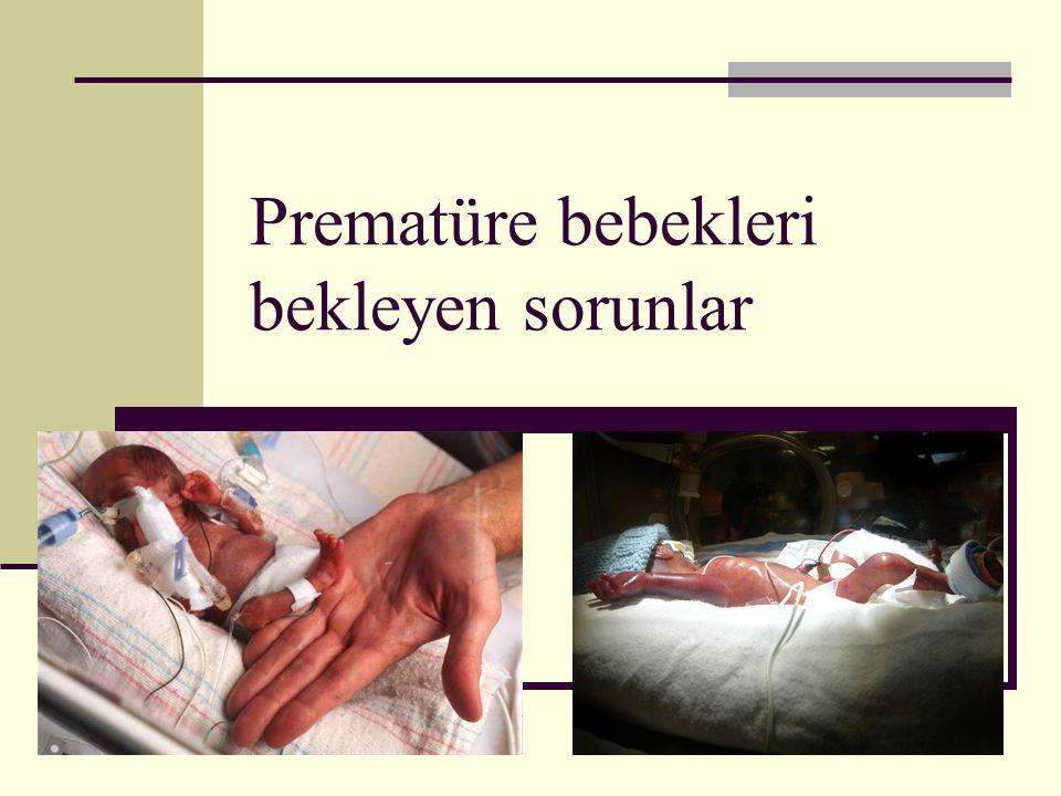 Prematüre bebekleri bekleyen sorunlar