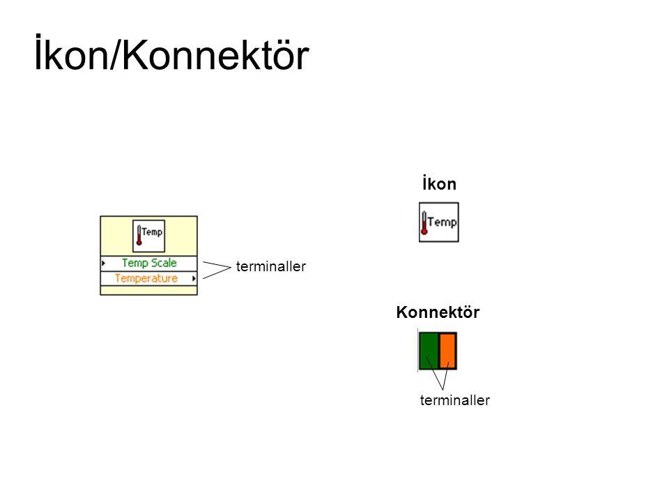 İkon/Konnektör İkon Konnektör terminaller
