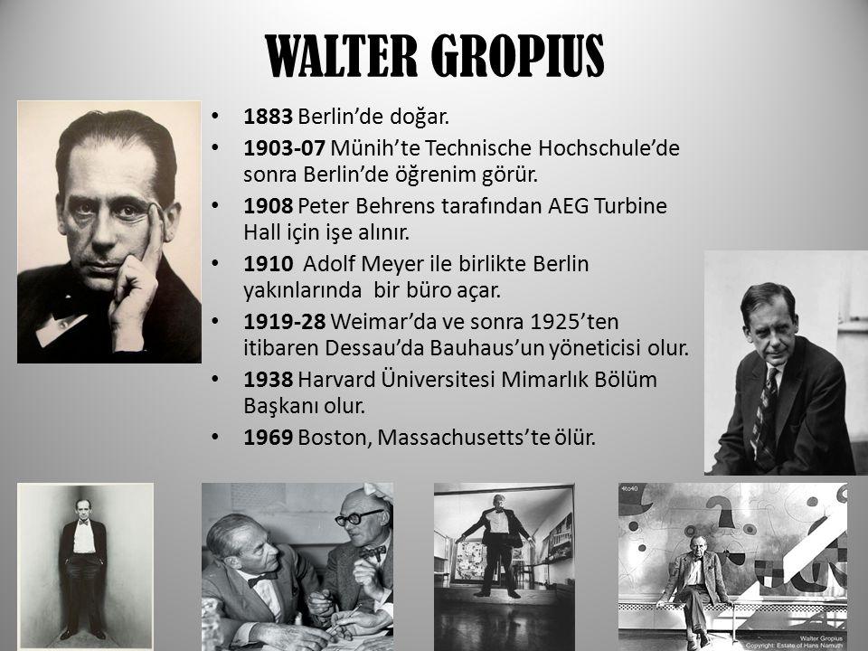  Modern cagın devrimci mimari  islevselcilik  Tasarım felsefesi  Deutscher werkbund  modernizm  Uluslar arası modernizm  Endüstriyel tasasrım