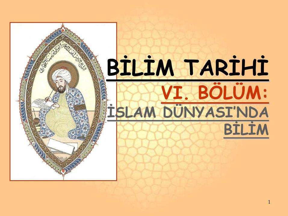 BATI İSLÂM DÜNYASI ENDÜLÜS EMEVÎLERİ Doğu İslam Dünyası'nda bilim faaliyetler hızla ilerlerken, Batı İslam Dünyası'nda bilimsel faaliyetler nasıldı.