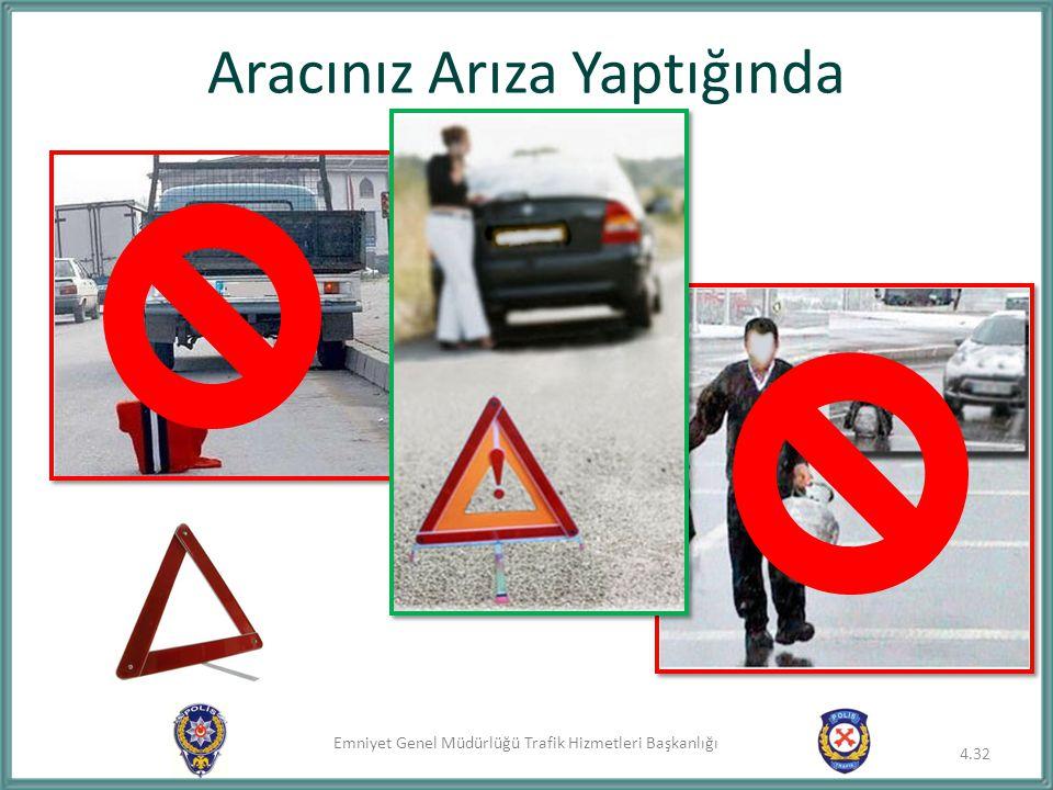Emniyet Genel Müdürlüğü Trafik Hizmetleri Başkanlığı Aracınız Arıza Yaptığında 4.32