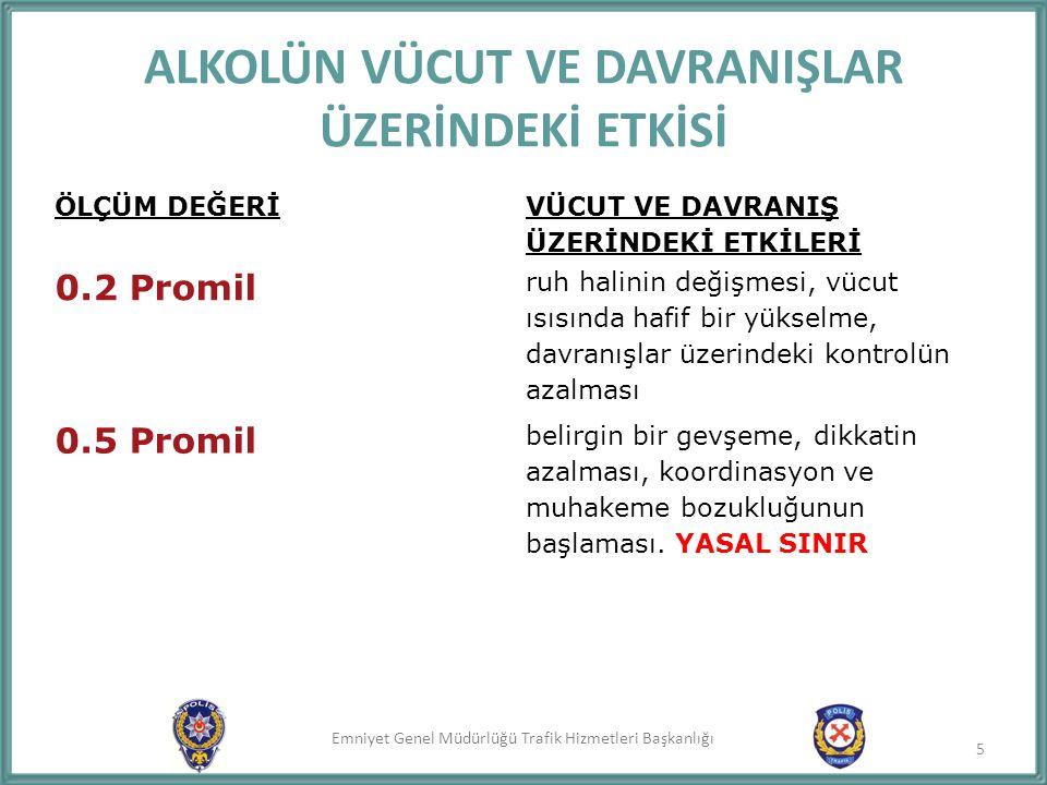 Emniyet Genel Müdürlüğü Trafik Hizmetleri Başkanlığı 1.TRAFİK GÜVENLİĞİ NEDİR.