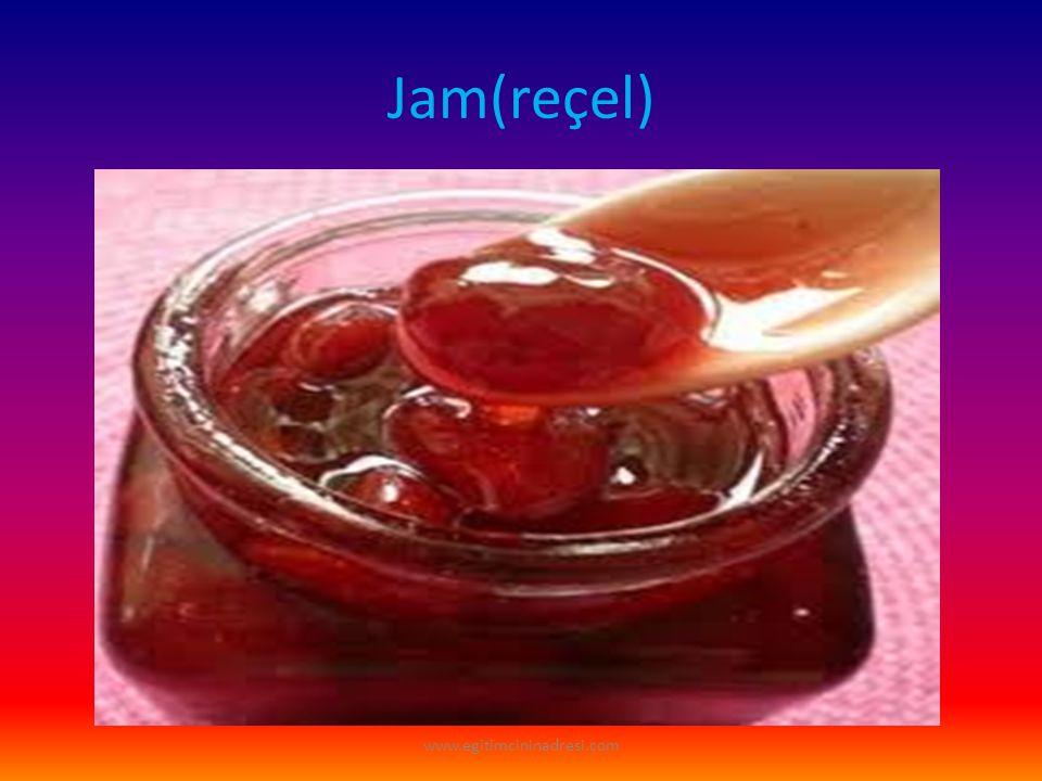 Jam(reçel) www.egitimcininadresi.com