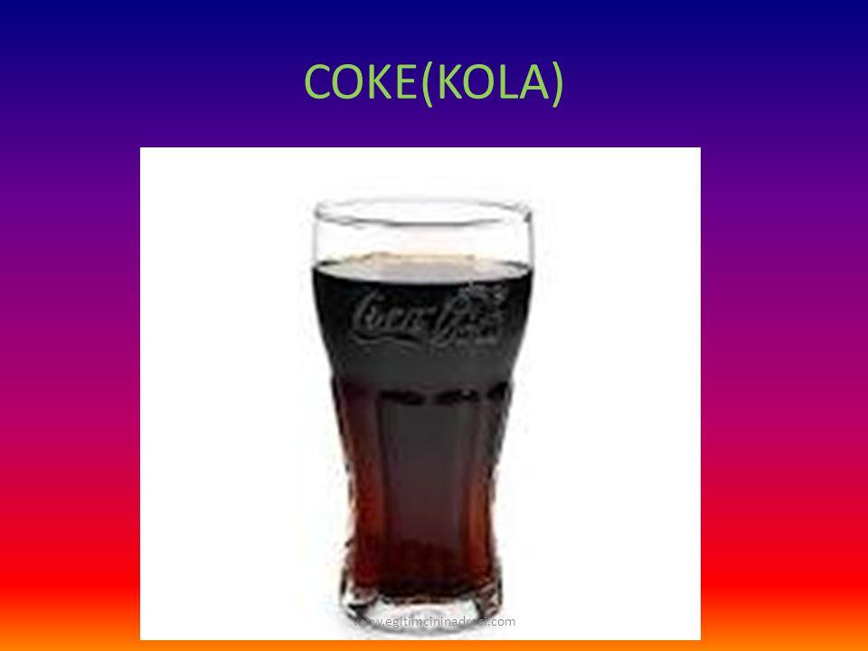 COKE(KOLA) www.egitimcininadresi.com