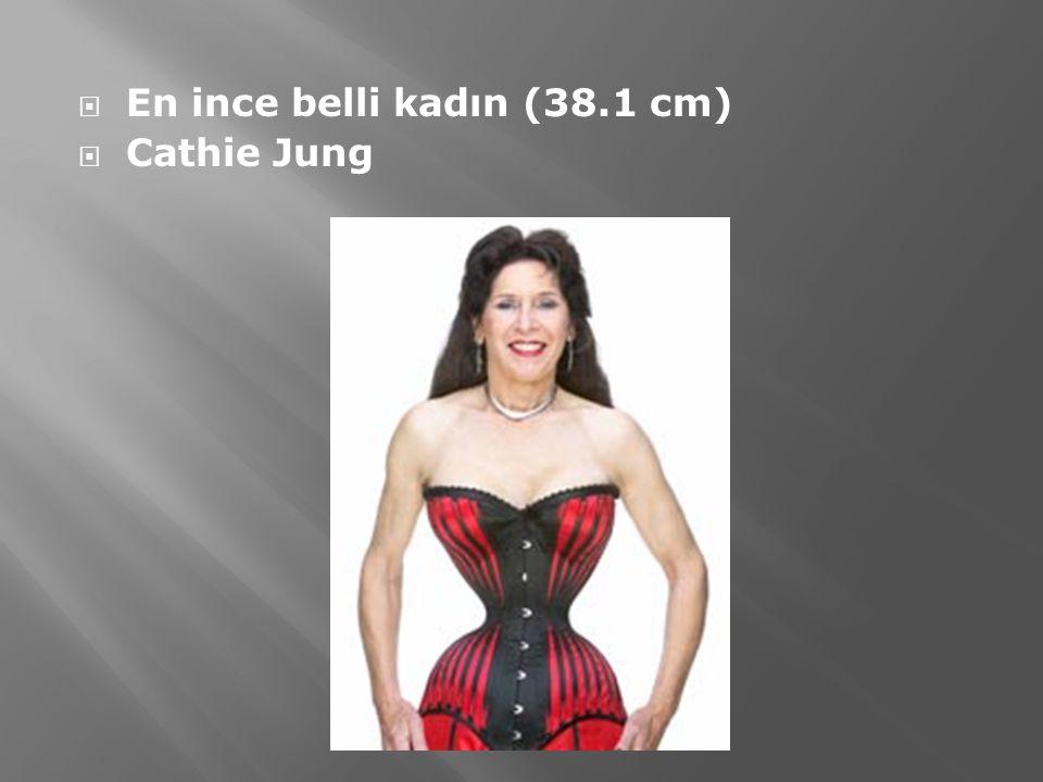  En ince belli kadın (38.1 cm)  Cathie Jung