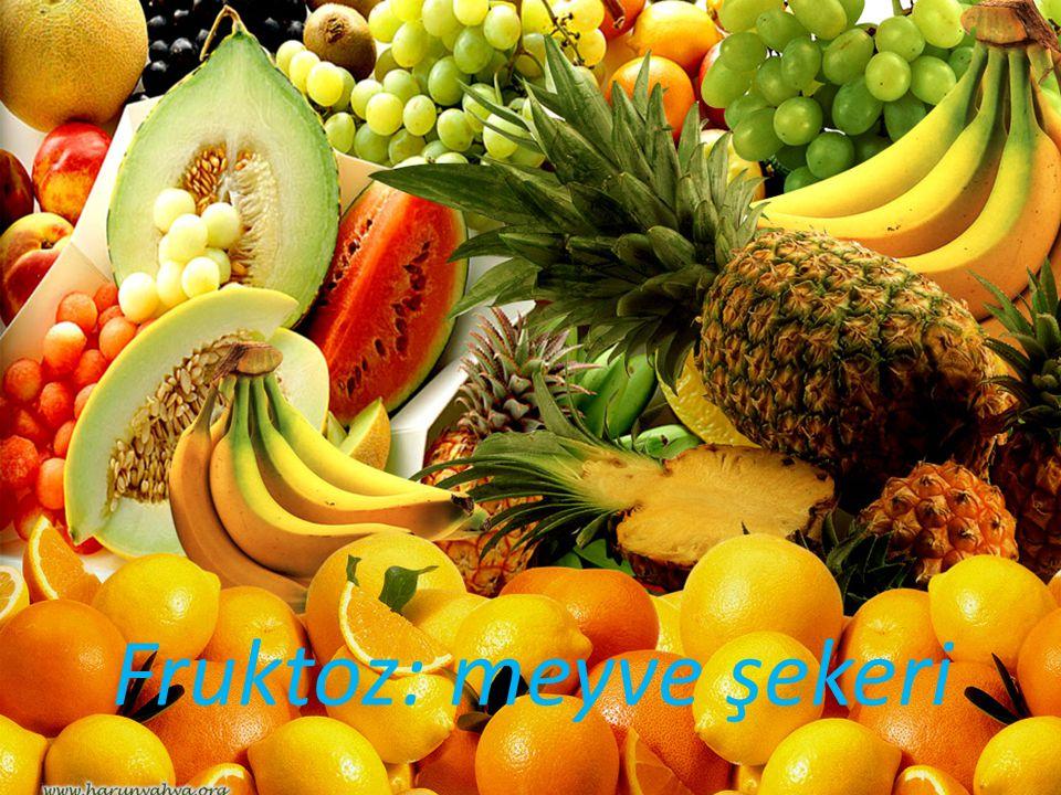 Fruktoz: meyve şekeri