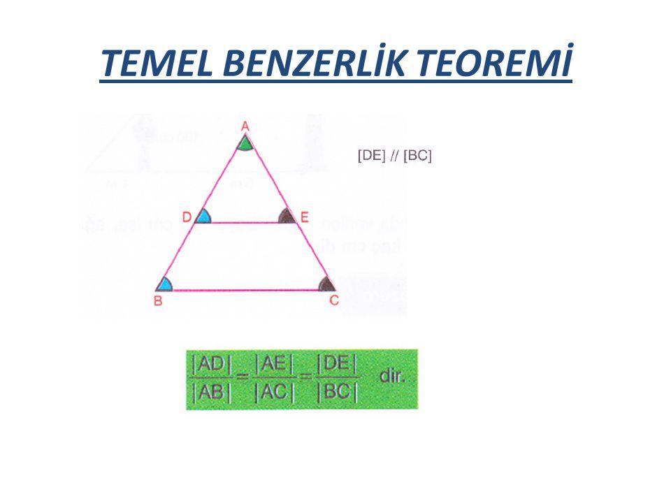 TEMEL BENZERLİK TEOREMİ