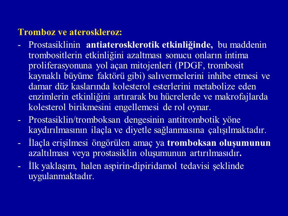 Diyetle tedavinin temelini oluşturan gözlem, Grönland da yaşayan eskimolarda ateroskleroz ve tromboza bağlı akut myokard infarktusunun ve ayrıca diabetes mellitus, bronşiyal astma, psöriyazis ve multipl sklerozun insidensinin düşük olması ve bu kimselerde trombosit fonksiyonunun zayıflığıdır.