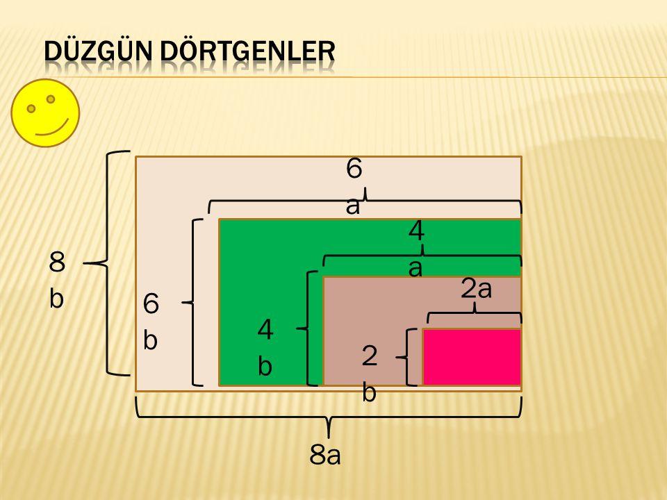 Açıları eşit, kenar uzunlukları birbiriyle orantılı ve farklı olan çokgenlere benzer çokgenler denir.