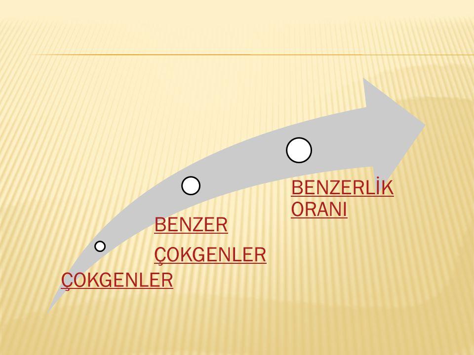 ÇOKGENLER BENZER ÇOKGENLER BENZERLİK ORANI