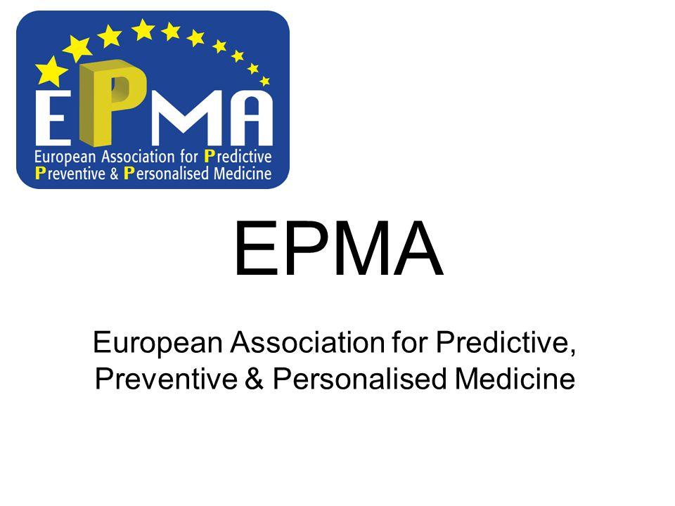 EPMA European Association for Predictive, Preventive & Personalised Medicine