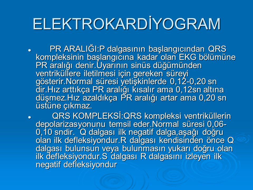 ARİTMİLER  ASİSTOLİ: Miyokardda elektriksel aktivitenin olmaması sonucu depolarizasyonun oluşmamasıdır.