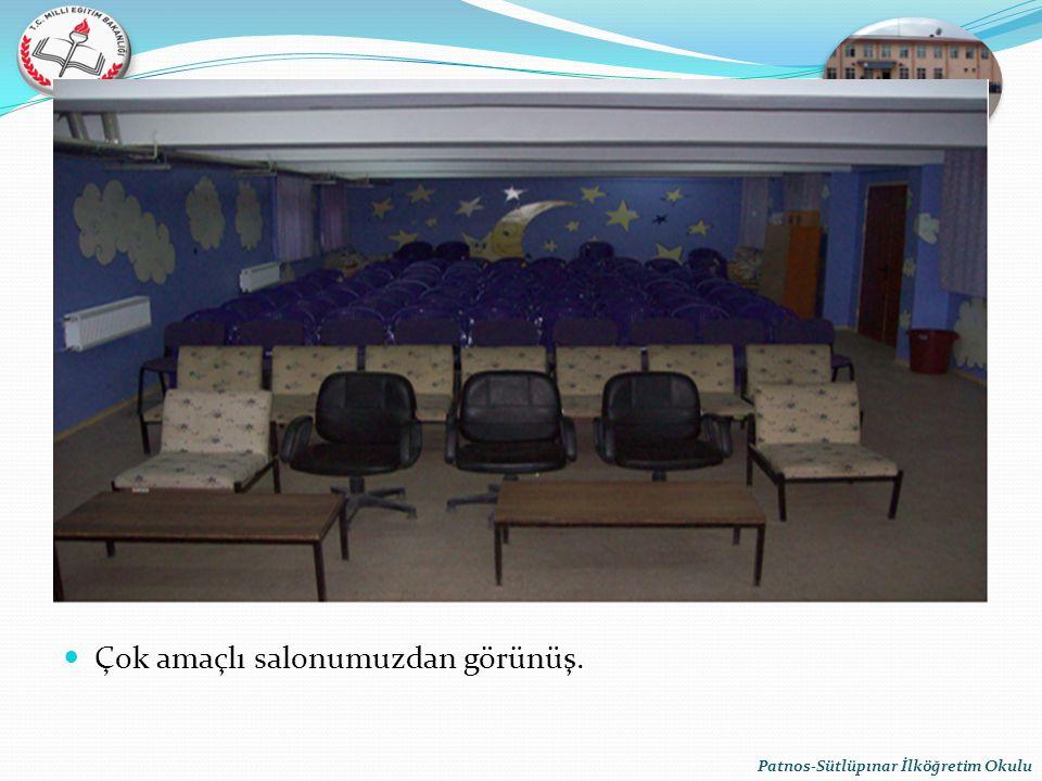 Çok amaçlı salonumuzdan görünüş. Patnos-Sütlüpınar İlköğretim Okulu