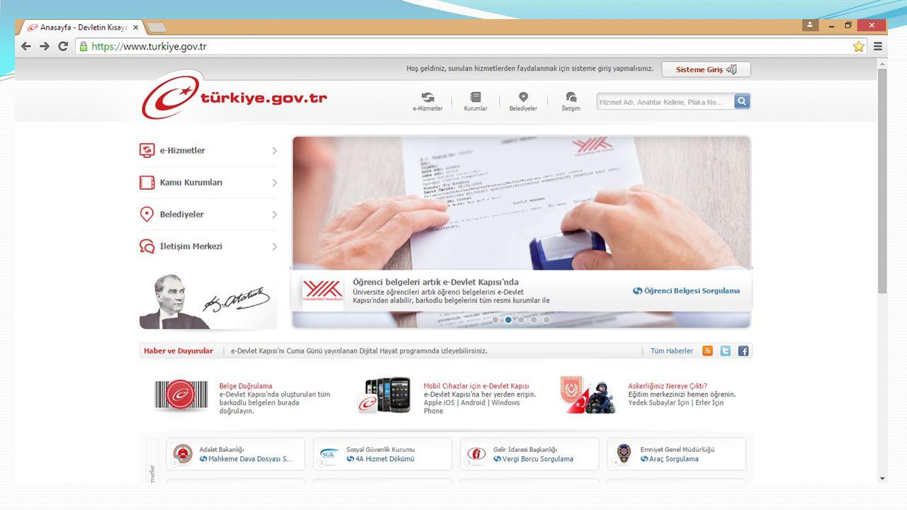Güvenli Bilgisayar Kullanımı İşletim Sisteminin Güncellenmesi Antivirüs Programı Kullanmak E-posta kullanımı Bankacılık İşlemleri İnternetten Alışveriş