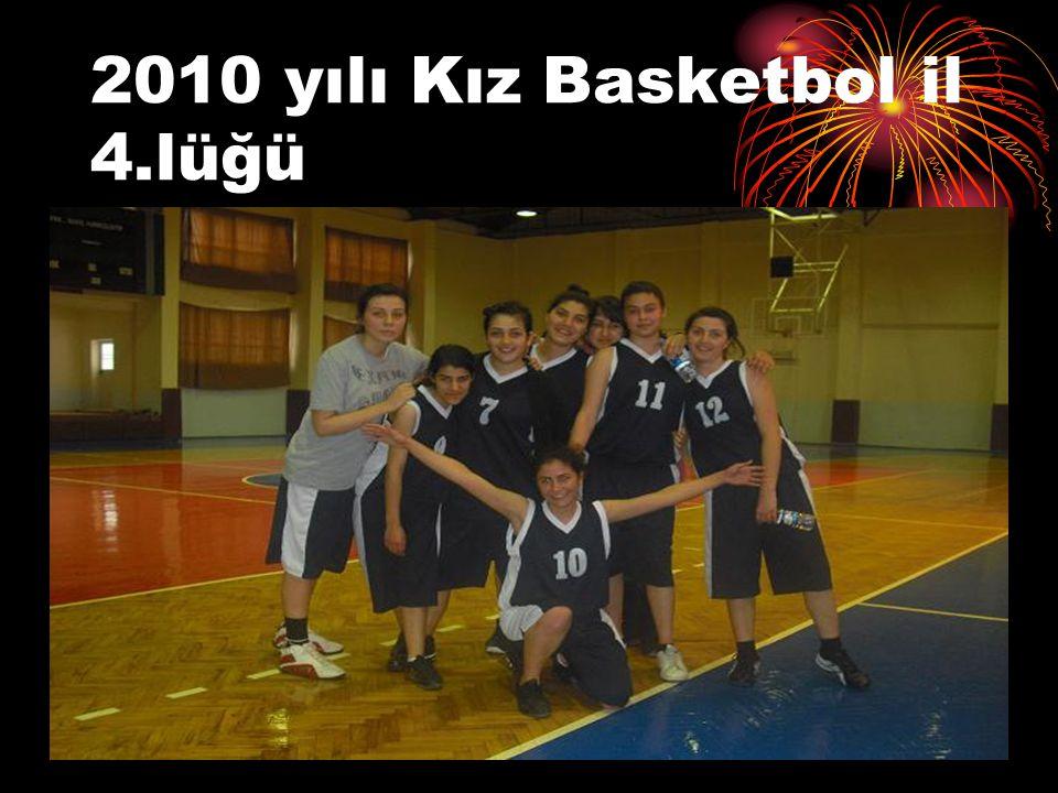 2010 yılı Kız Basketbol il 4.lüğü